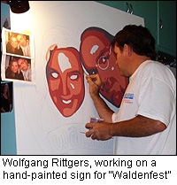 Wolfgang Rittgers of Sign Language Custom Signs in La Crosse